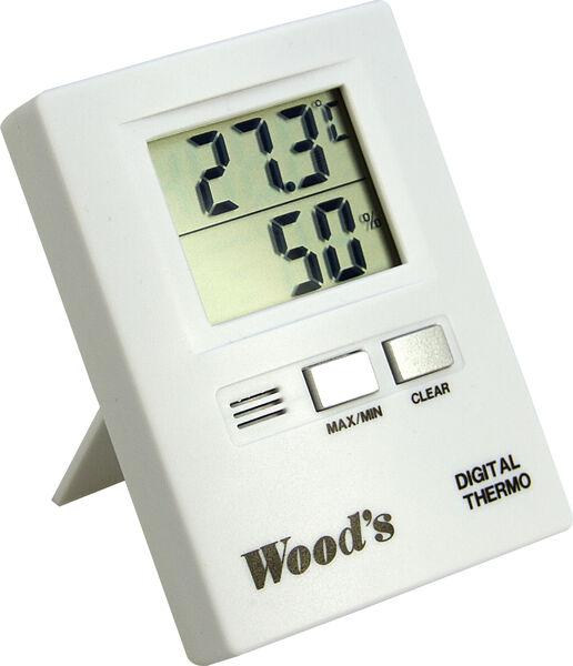 woods thermo hygrometri p